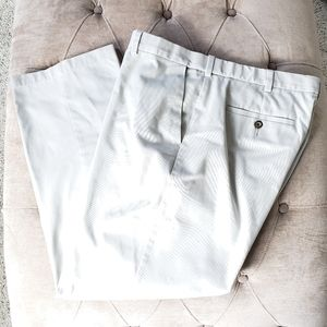 David Taylor Collection Light Tan Off White Pants